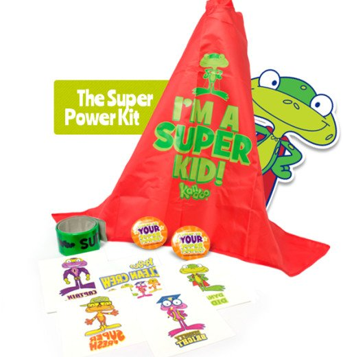 Free Pampers Kandoo Super Powers Kit